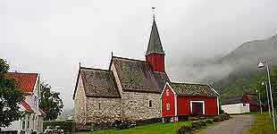Dale Stone Church (Luster), Норвегия