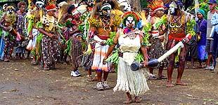 Фестиваль урожая, Горока, Папуа Новая Гвинея