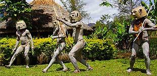 Глиняные люди, Горока, Папуа Новая Гвинея