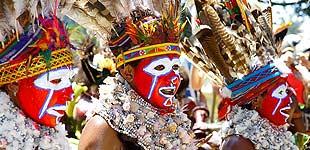 Репетиция Фестиваля в Маунт Хагене, часть 1, Папуа Новая Гвинея