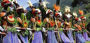 Репетиция Фестиваля в Маунт Хагене, часть 2, Папуа Новая Гвинея