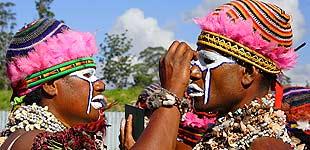 Фестиваль в Маунт Хагене, Папуа Новая Гвинея