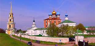 Рязанский кремль и Рязань