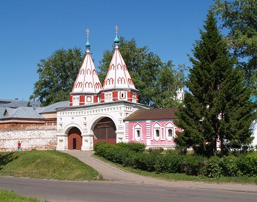 Ризоположенский монастырь в Суздале фотографии