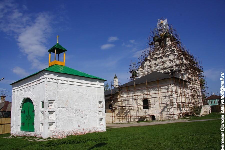Церковь Николы на Посаде фотографии