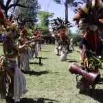 Фестиваль в Маунт Хагене Папуа Новая Гвинея фотографии