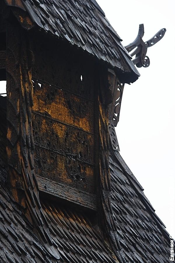 Ставкирка в Урнесе (Urnes) фото