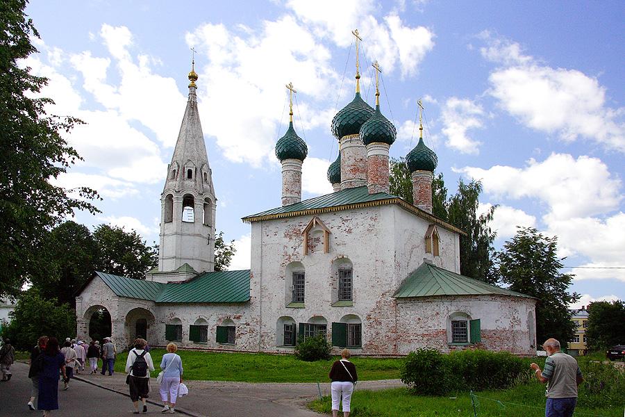 Церковь Николы Рубленый Город фото