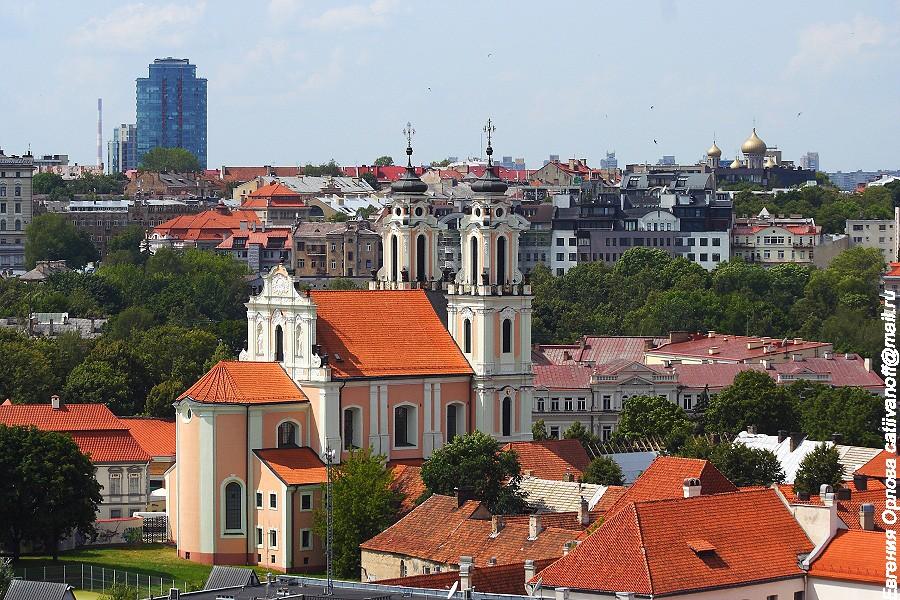 Костел святой Екатерины и ансамбль бенедиктинского монастыря фото