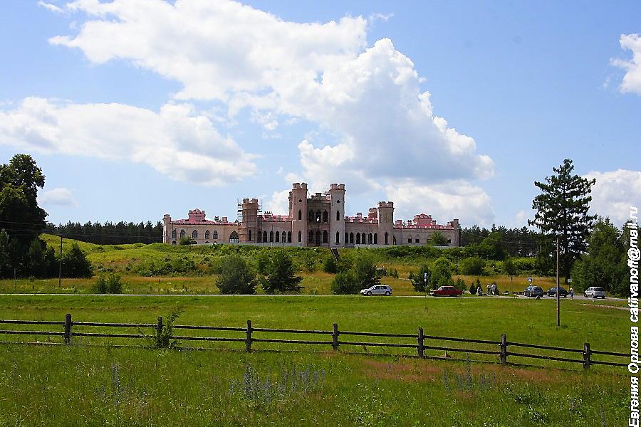 Замок Пусловских (г. Коссово)