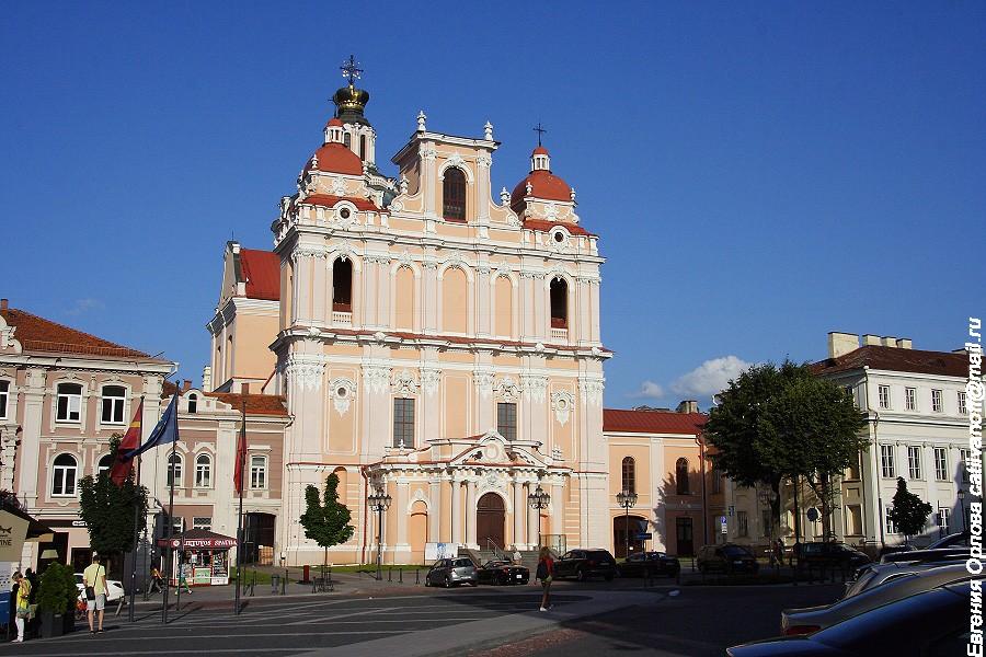 Костёл Святого Казимира фото
