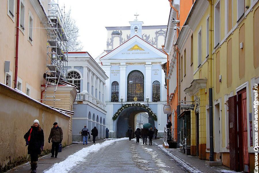 Ворота Аушрос фото