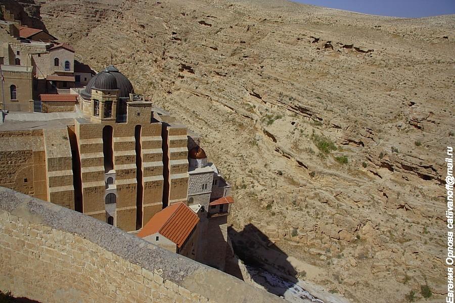 Мар Саба монастырь Израиль фото