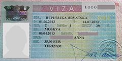 Хорватия забыла сообщить туристам о выросшем визовом сборе