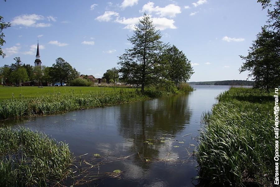 Mariefred и замок Грипсхолм, Швеция
