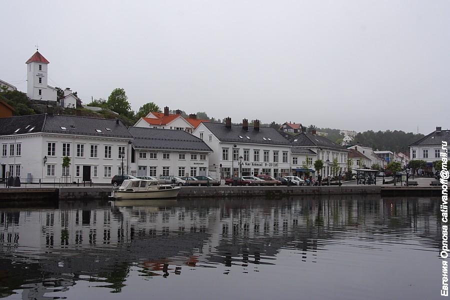 Первый день в Норвегии. Risor.