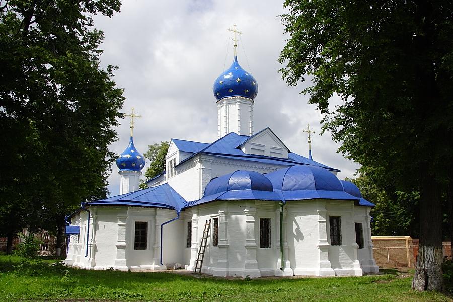 Церковь Введения во храм Пресвятой Богородицы  Феодоровский монастырь Переславль-Залесский фотографии