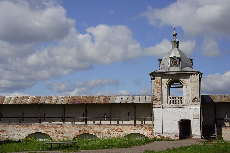 звонница в Горицком монастыре Переславль-Залесский фотографии