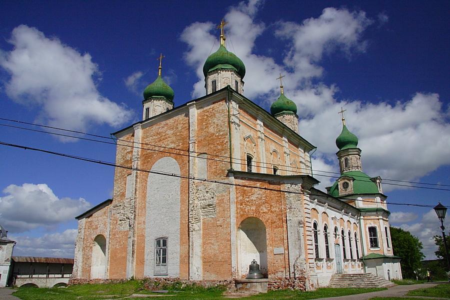 Успенский собор в Горицком монастыре Переславль-Залесский фотографии