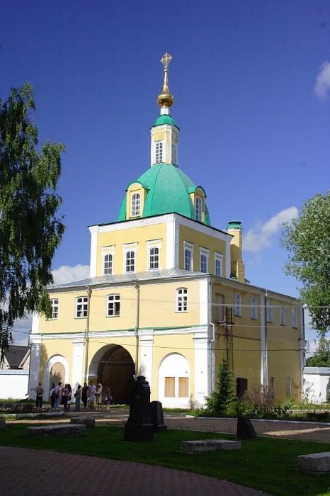 Церковь Петра и Павла Свято-Никольский монастырь Переславль-Залесский фотографии