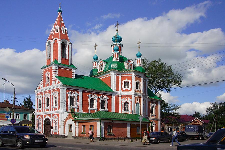 Церковь Симеона Столпника Переславль-Залесский фотографии