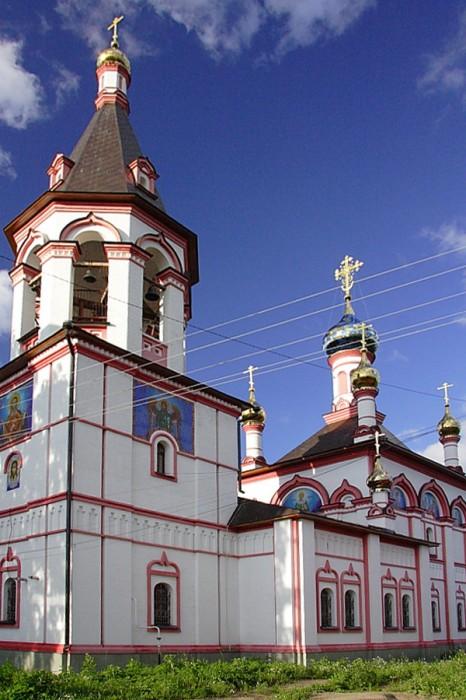 Знаменская церковь Переславль-Залесский фотографии