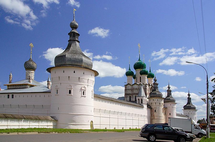 Башни кремля в Ростовском кремле фотографии