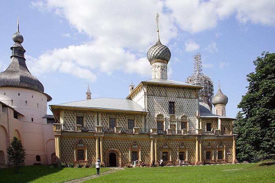 Церковь Одигитрии в Ростовском кремле фотографии