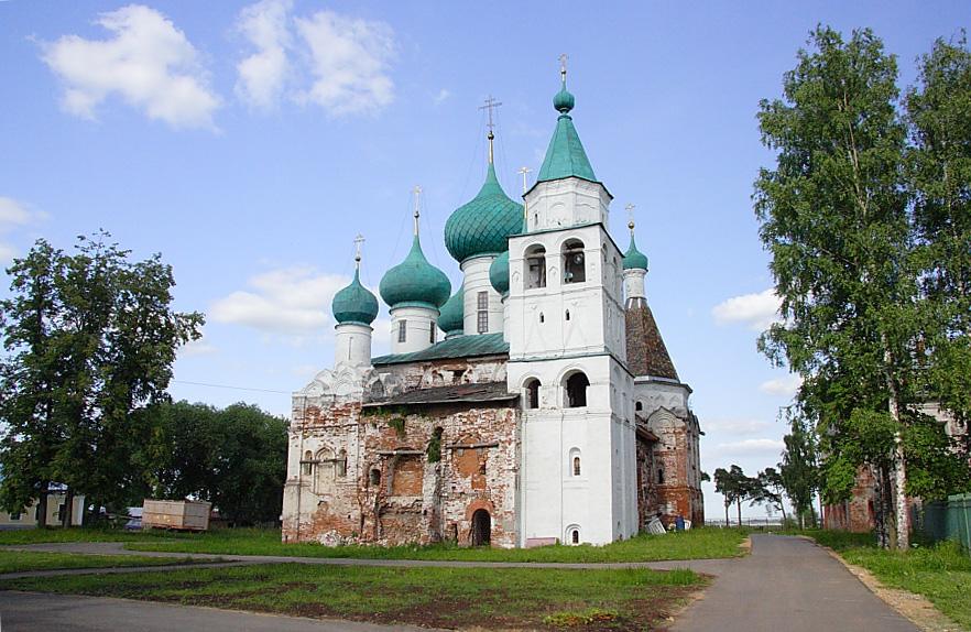 Богоявленский Авраамиев монастырь фотографии