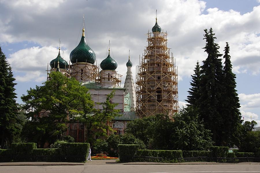 Церковь Ильи Пророка в Ярославле фотографии