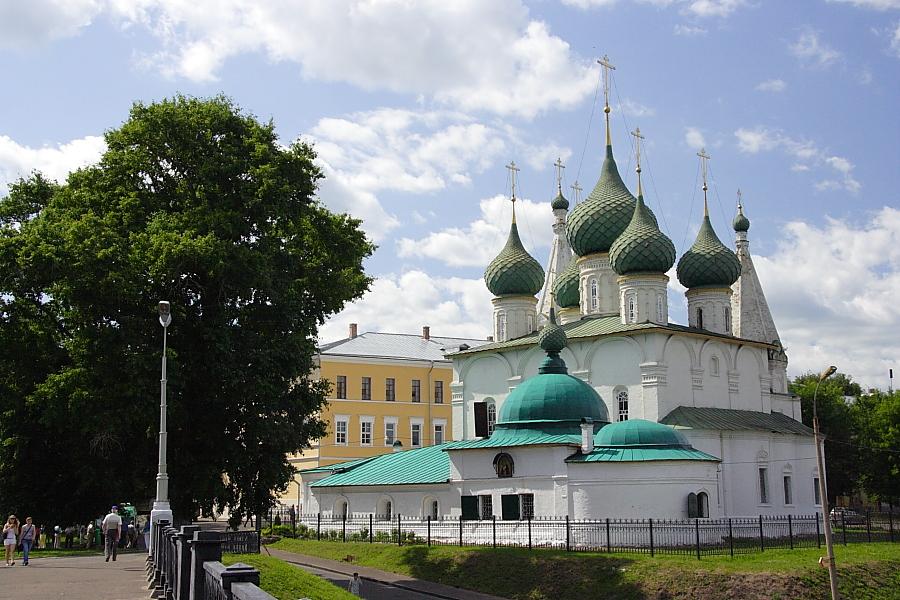 Церковь Спаса на Городу в Ярославле фотографии