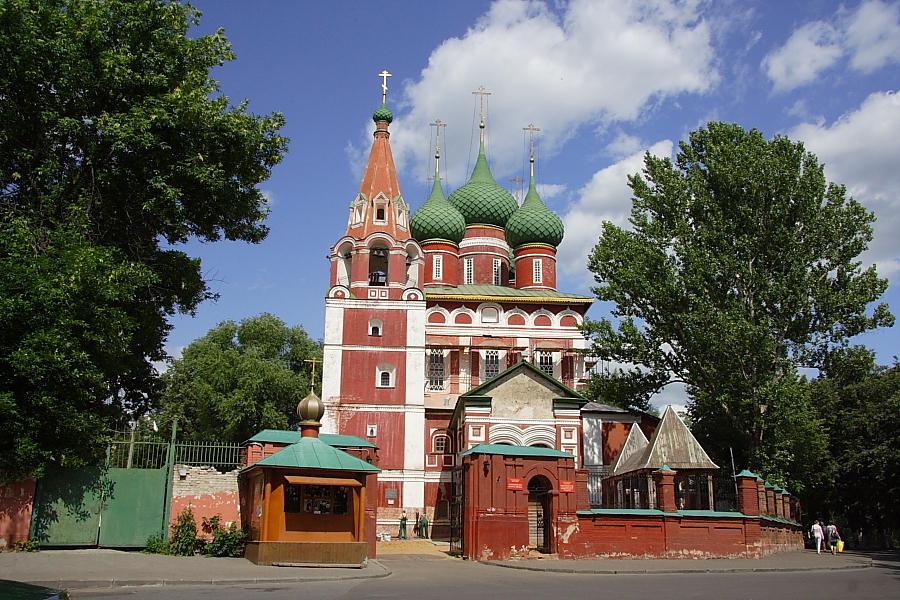 Церковь Михаила Архангела в Ярославле фотографии