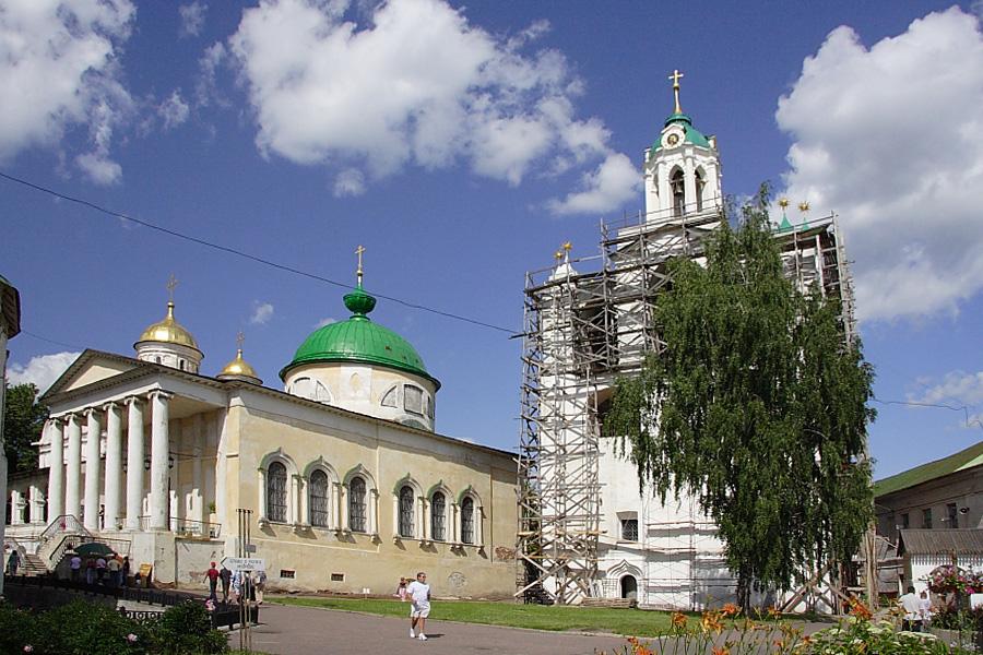 Спасо-Преображенский монастырь в Ярославле фотографии