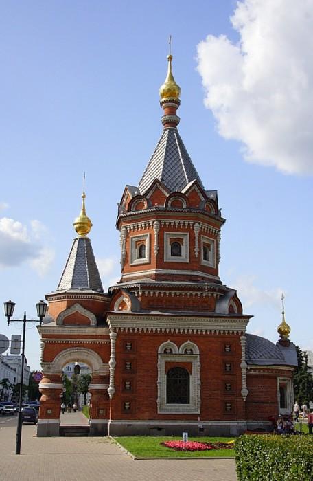 Часовня Александра Невского в Ярославле фотографии