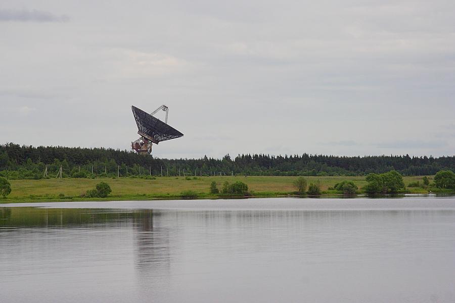 Радиотелескоп Калязинской радиоастрономической обсерватории фото