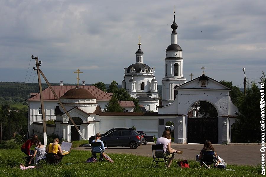 Свято-Никольский Черноостровский монастырь фотографии