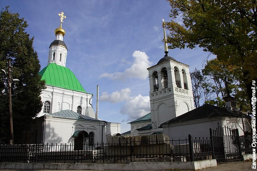 Спасо-Преображенская церковь во Владимире фото