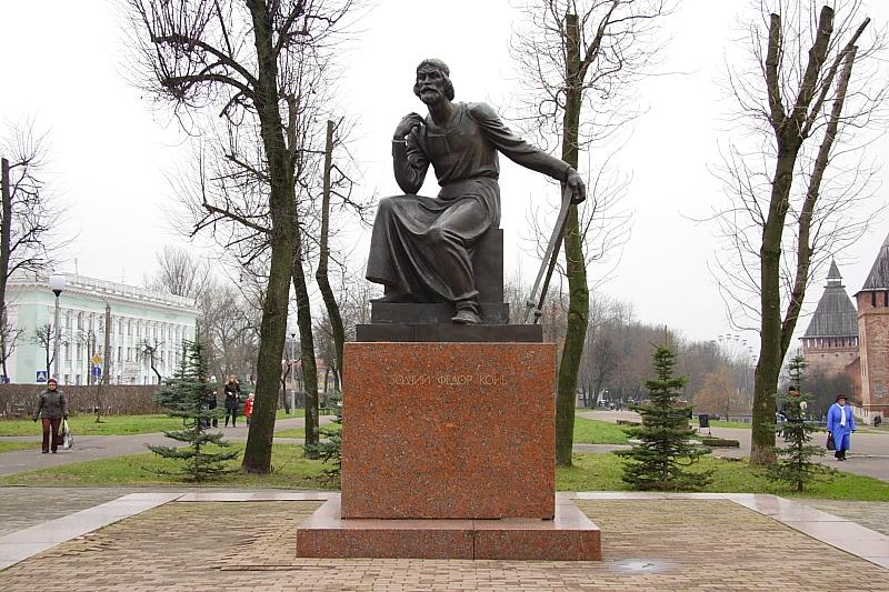 Памятник Ф.Коню фотографии