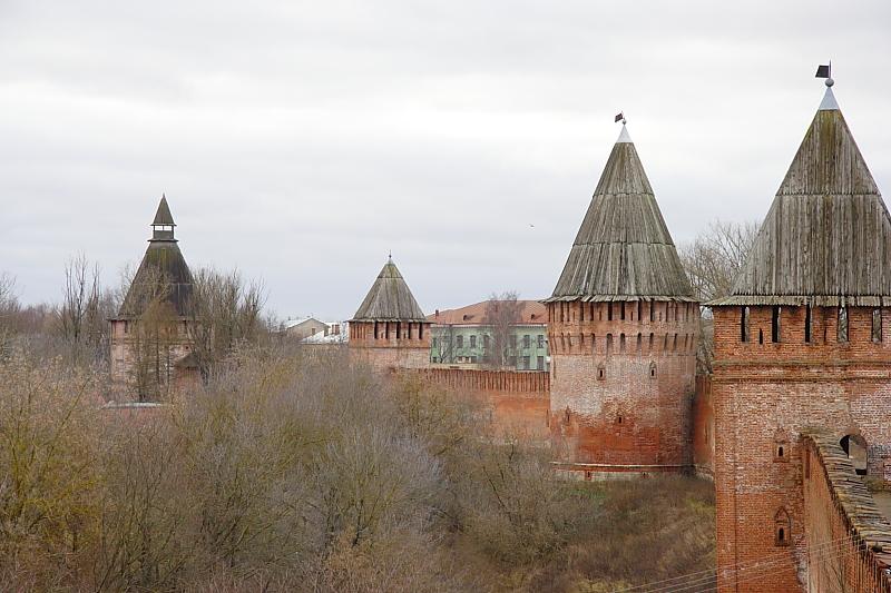 Смоленская крепость фотографии