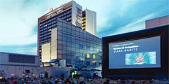 Таллинский кинотеатр на крыше предлагает интересную программу