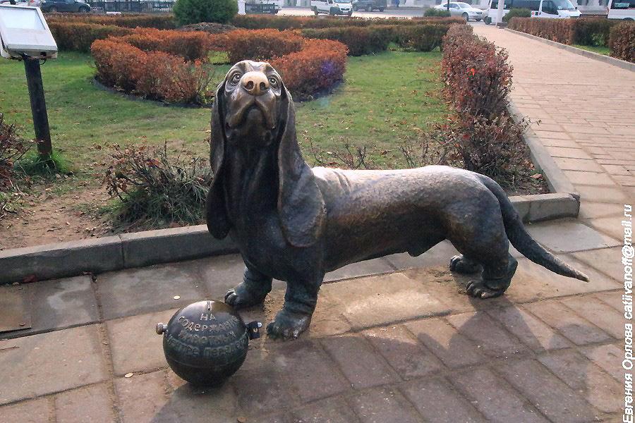 Памятник собаке<br />  фотографии