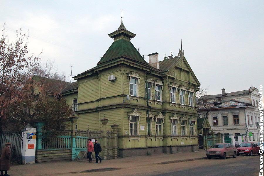 Архитектура города Костромы фотографии