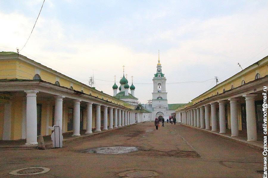 Костромские Торговые ряды фотографии