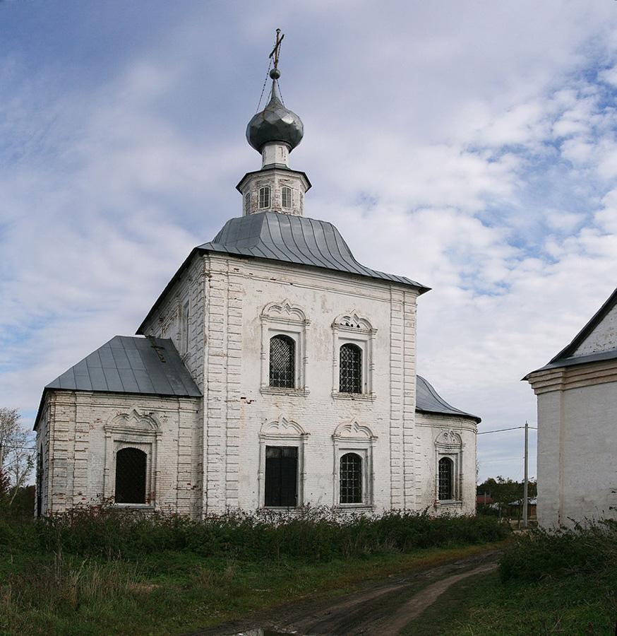 Церковь Богоявления в Суздале фотографии
