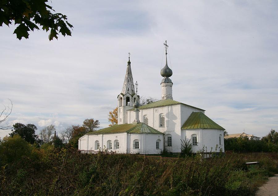 Церковь Косьмы и Дамиана на Яруновой горе в Суздале фотографии