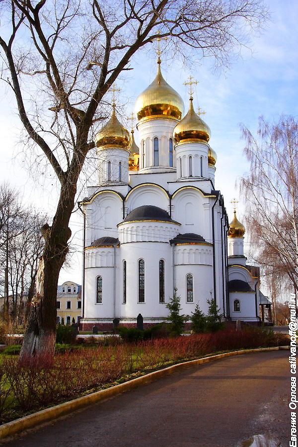 Собор Николая Чудотворца  Свято-Никольский монастырь Переславль-Залесский фотографии
