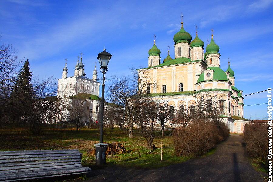 Горицкий монастырь Переславль-Залесский фотографии