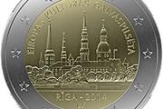 В Латвии выпущена 2-евровая монета особого дизайна