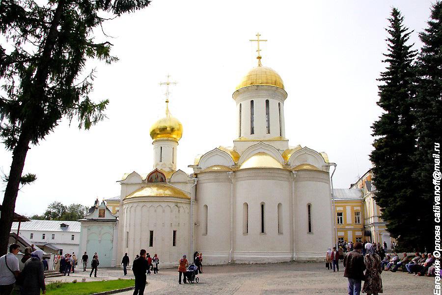 Троице-Сергиева Лавра фотографии