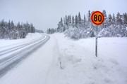 На дорогах Финляндии вводятся зимние скоростные ограничения